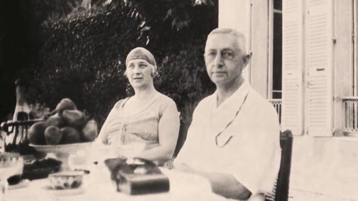 Иван Бунин с женой Верой Муромцевой./Фото: i.ytimg.com