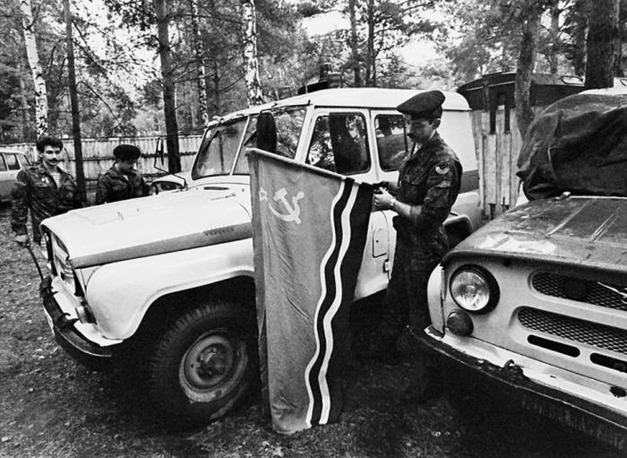 В Прибалтике ОМОН появился в числе первых. /Фото: tumentoday.ru