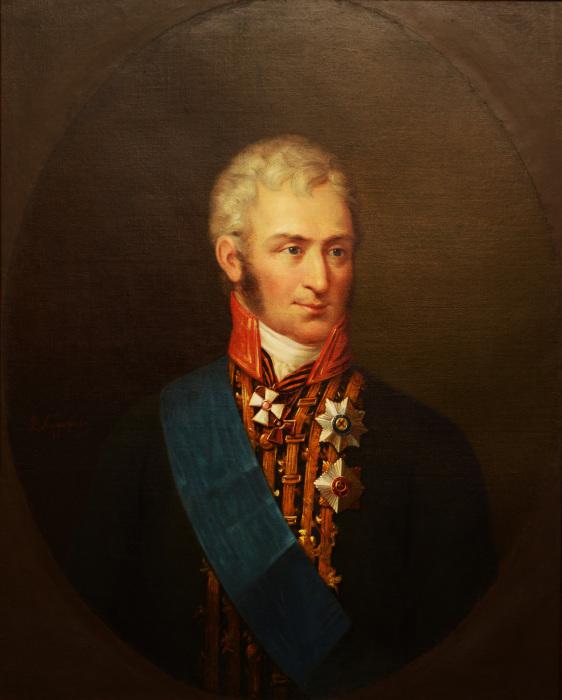 Портрет графа Николая Александровича Зубова./Фото: prizyv.tv