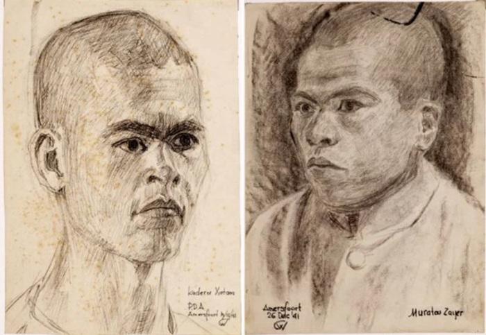 Предположительно пленные узбеки из дневника голландца-очевидца. /Фото: avatars.mds.yandex.net