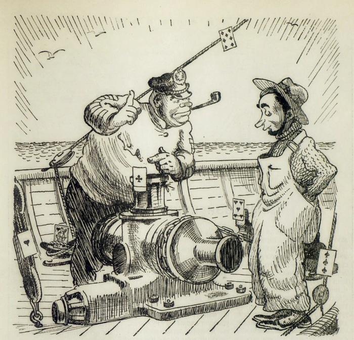 Иллюстрация к «Приключениям» 1937 года. /Фото: avatars.mds.yandex.net