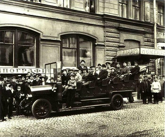 Петербург, 1900 год. Автор - К.Булла. /Фото: mtdata.ru