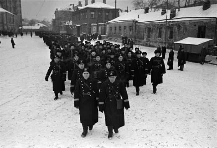 Московские милиционеры. /Фото: smolbattle.ru