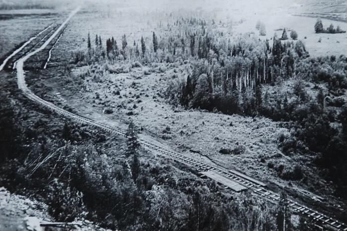 Печерская железная дорога, построенная заключенными ГУЛАГа. /Фото: s2.stc.all.kpcdn.net