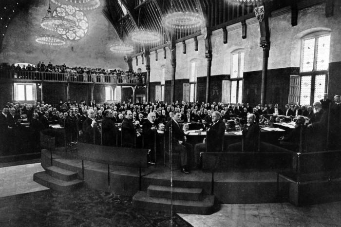 Гаагская конференция 1899 года. /Фото: ruspekh.press