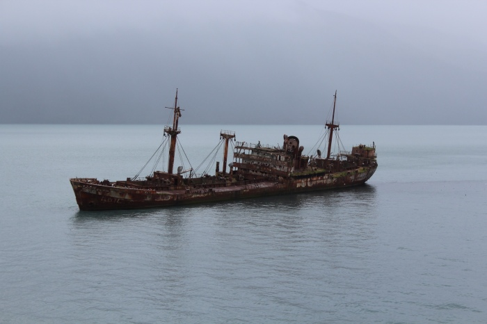 Обнаруженный корабль-призрак возле Кубы. /Фото: discover24.ru