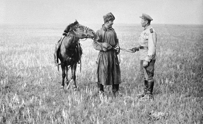 Выносливые монгольские лошади были важным подспорьем на фронте./Фото: cdn2.img.inosmi.ru