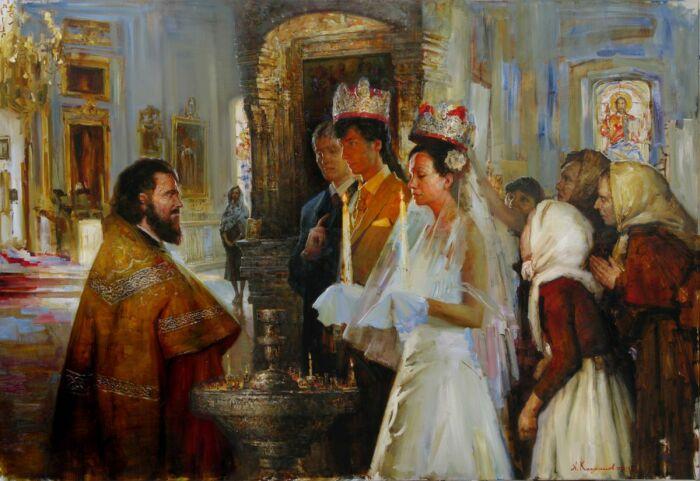 Крестьяне старались поженить сыновей до того, как их заберут на службу. /Фото: etot-prazdnik.ru
