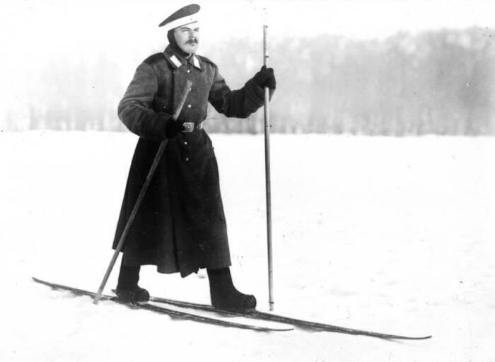 Солдат в валенках. /Фото: fb.ru