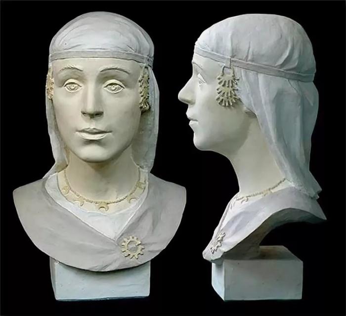 Реконструкция внешности женщины племени радимичей./Фото: nashkraj.info
