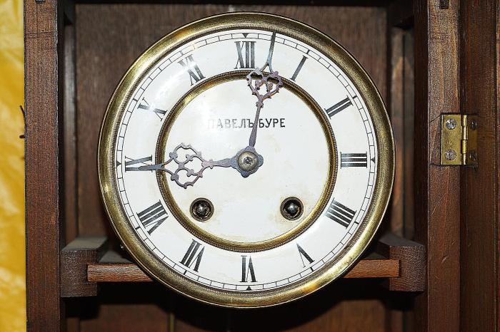 Настенные часы «Павелъ Буре»./Фото: transantique.ru