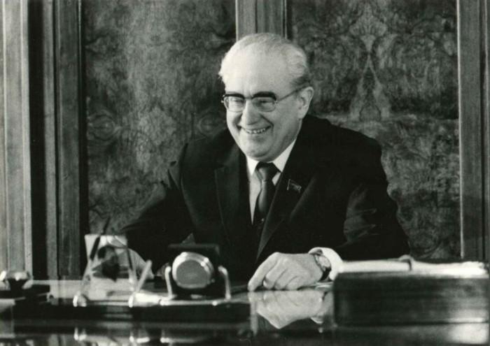 Юрий Владимирович Андропов – Генеральный секретарь ЦК КПСС с 12 ноября 1982 по 9 февраля 1984./Фото: yarwiki.ru