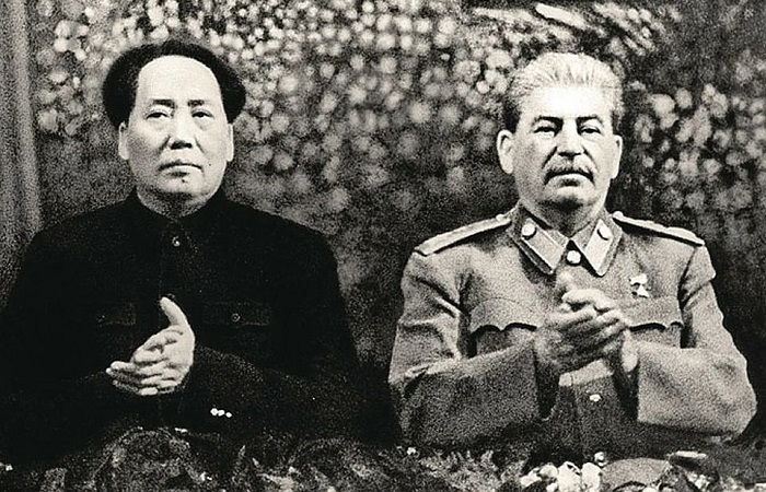 Мао и Сталин./Фото: avatars.mds.yandex.net