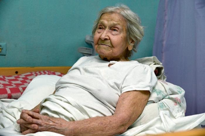 Любовь Илларионовна прожила больше века./Фото: vz.ua