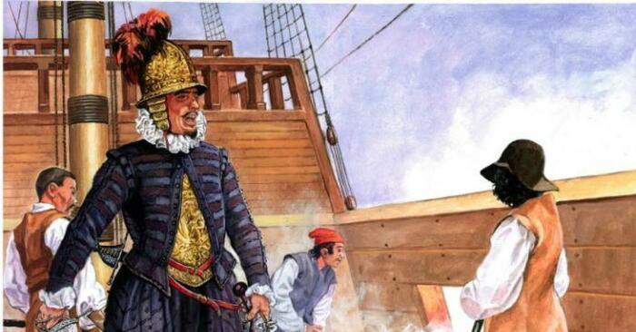 Пират Роже был заточен в замок Галль королем Фредериком II. /Фото: i.pinimg.com