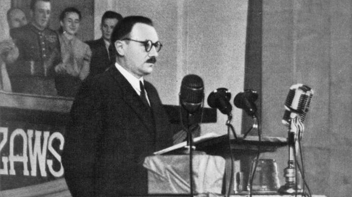 Болеслав Берут – польский партийный и государственный деятель, первый президент Польской Народной Республики./Фото: 1ku.ru