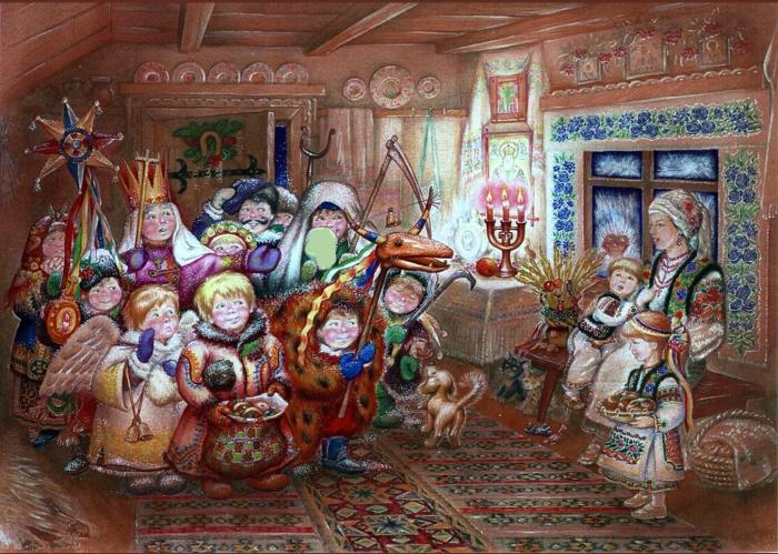 Рождественские колядки./Фото: podolfitness.com.ua