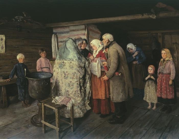 К родам на Руси готовились заранее. /Фото: vitri.com.ua
