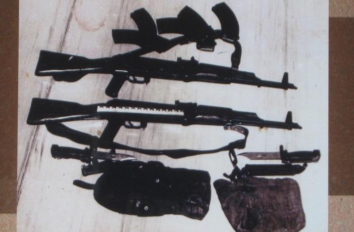 Изъятое у преступников оружие. /Фото: konkret.az