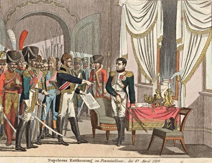 Подписание договора в дворце Фонтебло. /Фото: historytime.ru