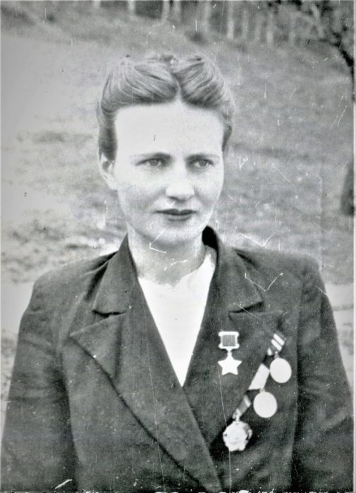 Герой Советского Союза Мария Байда. /Фото: nstarikov.ru