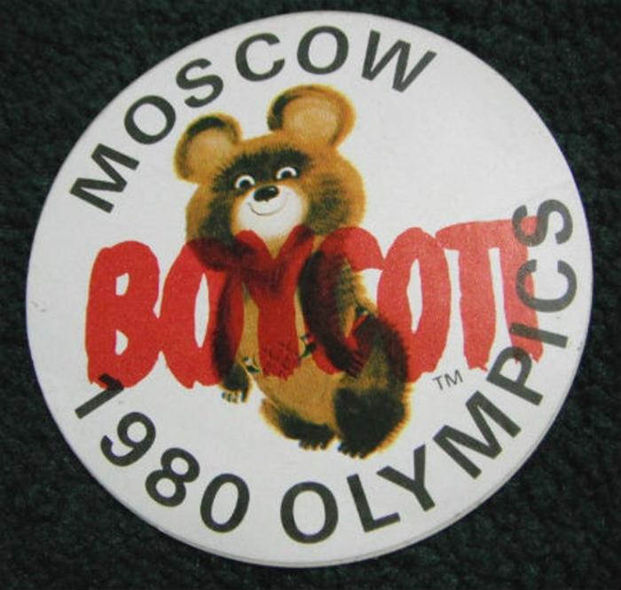 Олимпийские игры-80 бойкотировали десятки стран./Фото: ic.pics.livejournal.com