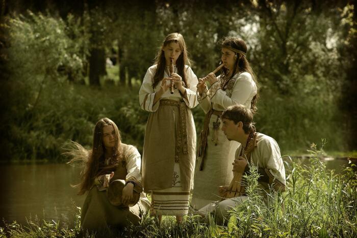 Звучание славянской музыки легко распознать среди многих народных стилей. /Фото: ethnoboho.ru