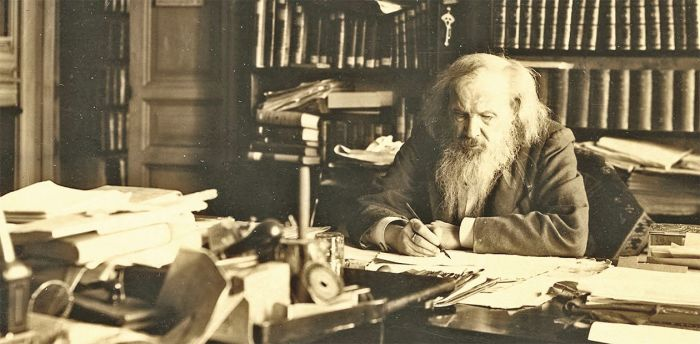 Дмитрий Иванович Менделеев (1834-1907 гг)./Фото: scfh.ru