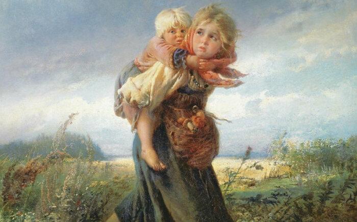 Сводные братья и сестры имеют разных родителей. /Фото: deti.mail.ru