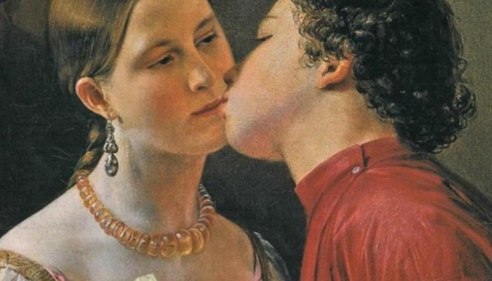 Гостя на Руси встречали радушно, но если он не хотел целоваться, могли прогнать. /Фото: newsland.com