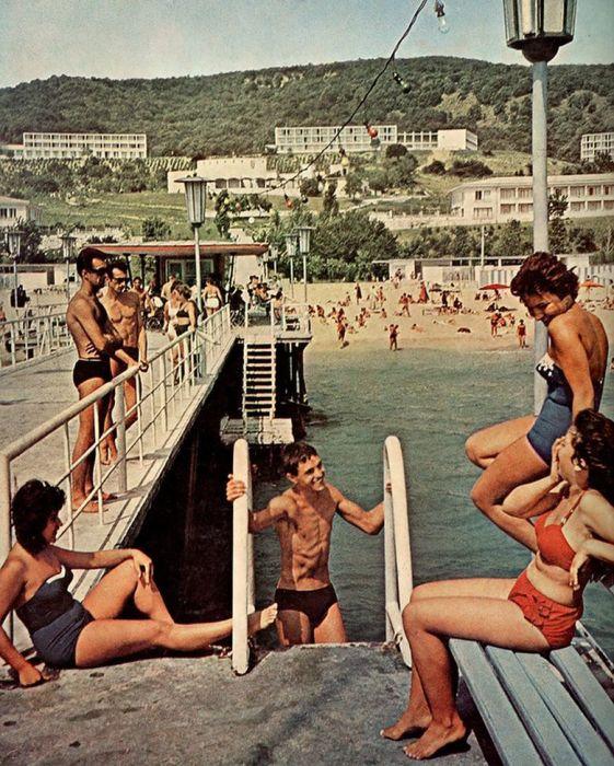Золотые пески, 1960 год./Фото: trafficnews.bg