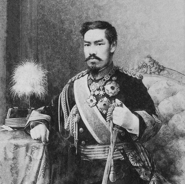 Японский император Мэйдзи (МуцуÑито)./Фото: watafak.ru