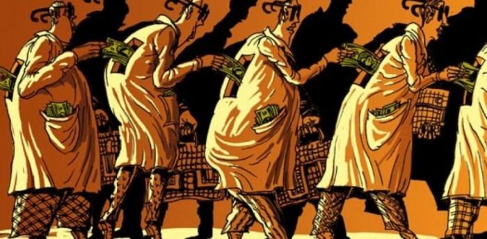 Брежнев усмотрел в сложившейся системе взяточников серьезную угрозу целостности государства./Фото: kramola.info
