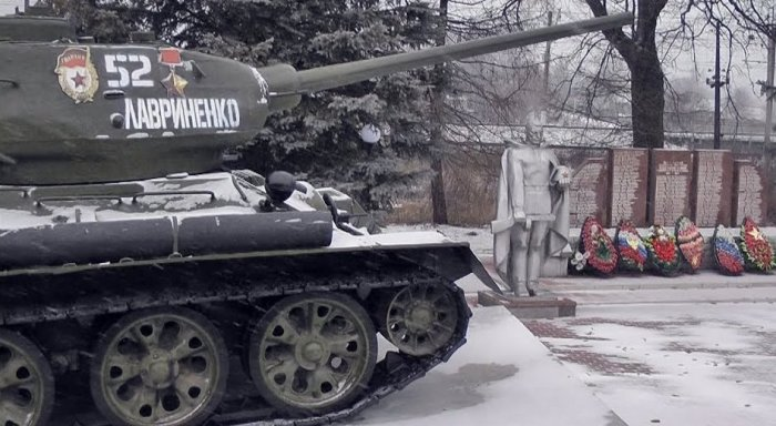 Увековеченная память виртуозному танкисту. /Фото: pbs.twimg.com