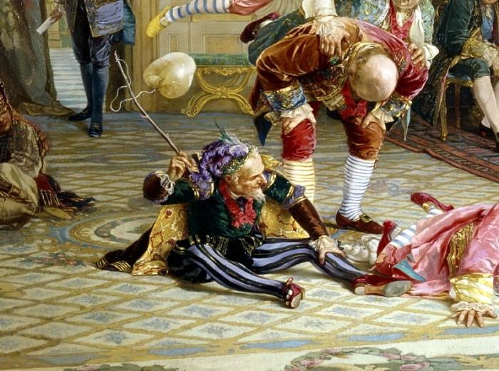 Ян Лакоста был главным шутом при дворе Петра Великого. /Фото: tampereclub.ru