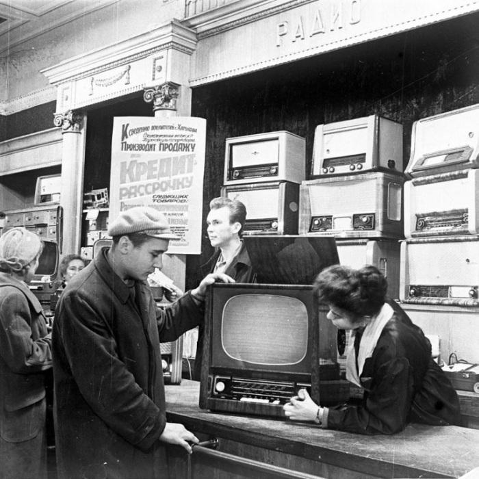 Купить телевизор можно было в кредит. /Фото: i.mycdn.me