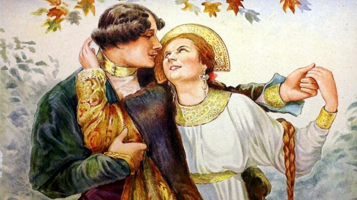 Поцелуй при свидетелях считался позором, а присутствовать на родах не пришло бы в голову ни одному мужчине в старой Руси. /Фото: autogear.ru