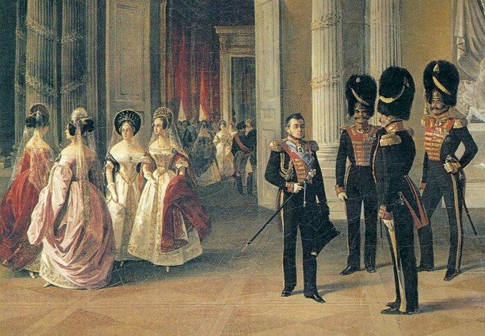 Если муж долго отсутствовал (например, воевал), дворянке было разрешено снова выйти замуж. /Фото: volkhonsky-live.ru