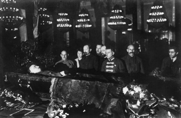Прощание с Лениным, 27 января 1924 года./Фото: ic.pics.livejournal.com