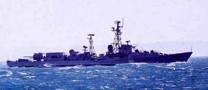 Боевой корабль «Неуловимый». /Фото: mtdata.ru