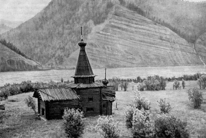 Зашиверская деревянная церковь. /Фото: i.pinimg.com