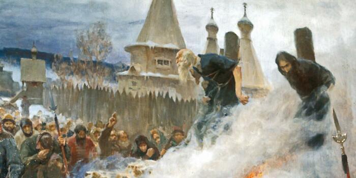 Реформа церкви обернулась лишениями жизней несогласных. /Фото: i.pinimg.com