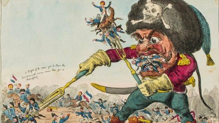 В Европе Суворова прозвали «генерал глотка». /Фото: i.ytimg.com