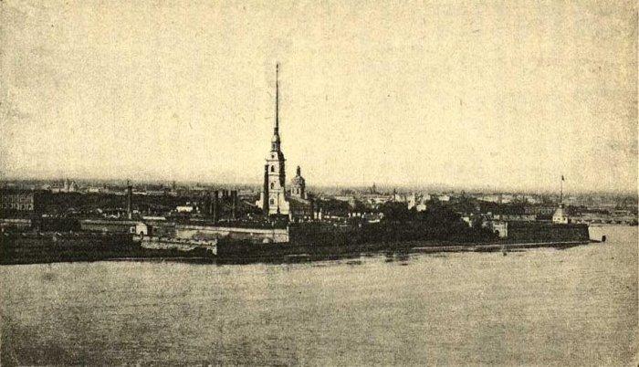 Петропавловская крепость в 1906 году./Фото: kdnv.ru