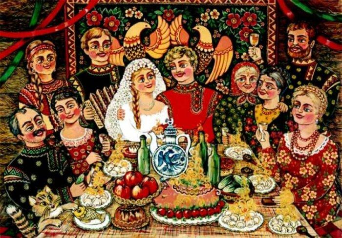 Четвертый брак считался несчастным и церковью осуждался. /Фото: ic.pics.livejournal.com