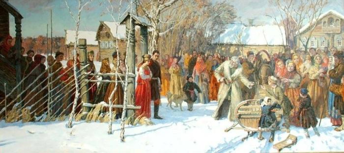 Прежде чем увезти невесту, жених должен был заплатить выкуп. /Фото: avatars.mds.yandex.net