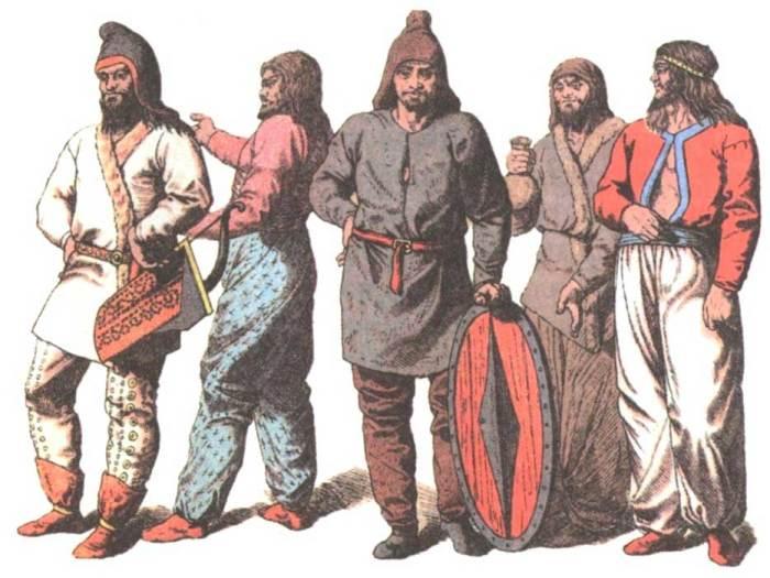 Как предположительно выглядели древние скифы./Фото: 4.bp.blogspot.com