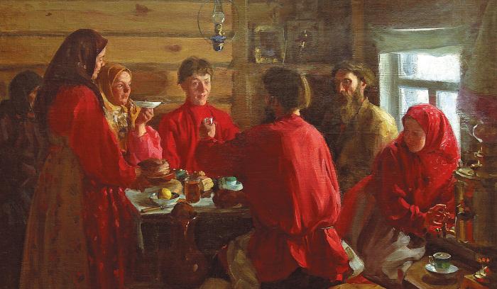 Примаком на Руси называли мужчину, который переезжал в дом жены. /Фото: static.tildacdn.com