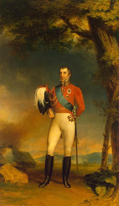 Художник Доу Джордж - Портрет герцога Веллингтона.