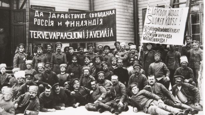 Революция 1917-го подарила финнам суверенитет. /Фото: avatars.mds.yandex.net
